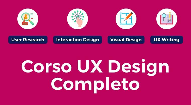 Il primo Corso di UX Design 100% online 1