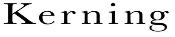 caratteri tipografici molta crenatura