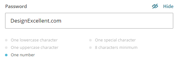 15 linee guida UX per Login, Registrazione e Password 5
