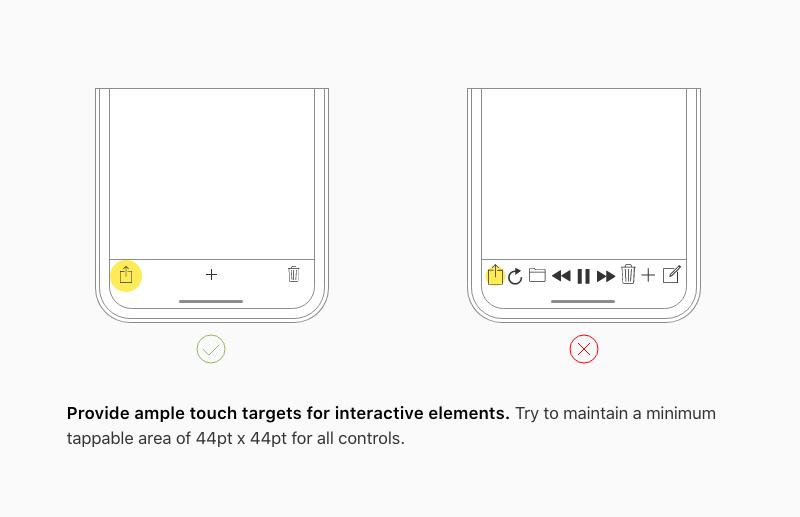 I principi di Usabilità - UX e UI Mobile Usability 5