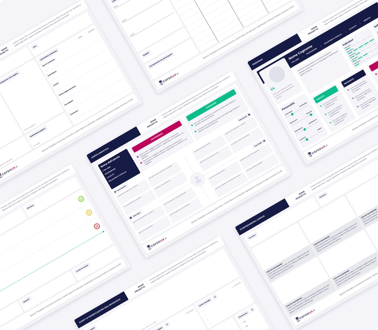 UX Template Kit 5